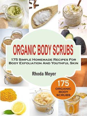 cover image of Organic Body Scrubs