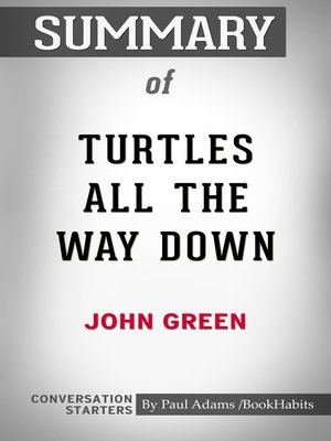 cover image of Summary of Turtles All the Way Down
