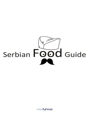 cover image of Serbian Food Guide
