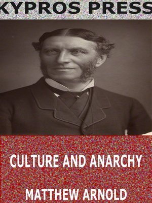 cover image of Culture and Anarchy