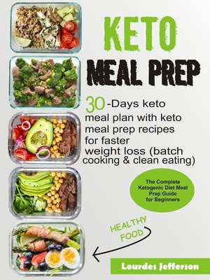cover image of Keto Meal Prep Cookbook