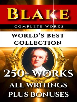 cover image of William Blake Complete Works – World's Best Collection