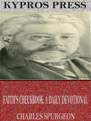 cover image of Faith's Checkbook: A Daily Devotional
