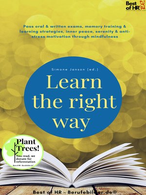 cover image of Learn the right way