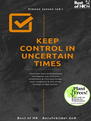 cover image of Keep Control in Uncertain Times
