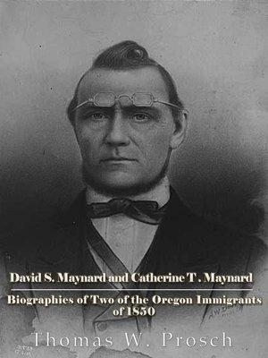 cover image of David S. Maynard and Catherine T. Maynard