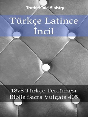 cover image of Türkçe Latince İncil