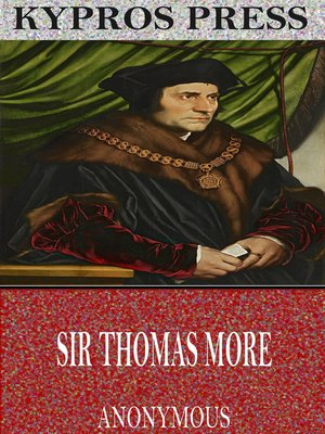 cover image of Sir Thomas More