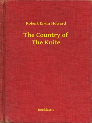 cover image of The Country of the Knife