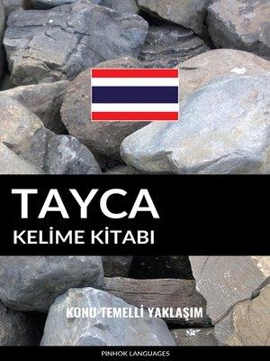 cover image of Tayca Kelime Kitabı