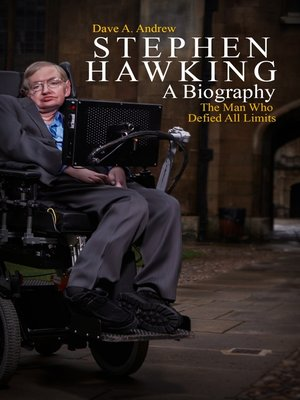 cover image of Stephen Hawking A Biography