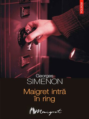 cover image of Maigret intră în ring