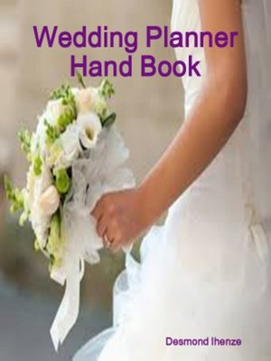 cover image of Wedding Planner Hand Book