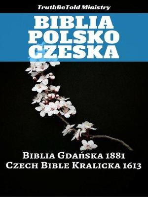cover image of Biblia Polsko Czeska