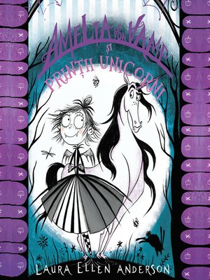 cover image of Amelia von Vamp și prinții unicorni