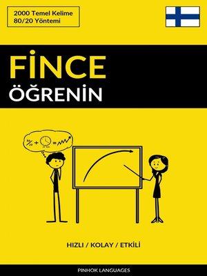 cover image of Fince Öğrenin--Hızlı / Kolay / Etkili