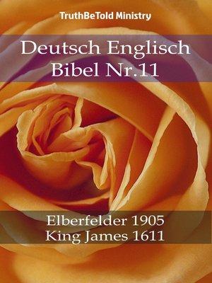 cover image of Deutsch Englisch Bibel Nr.11