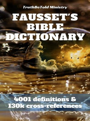 cover image of Fausset's Bible Dictionary