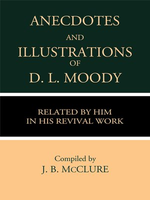 cover image of Anecdotes & Illustrations of D. L. Moody Related by Him in His Revival Work