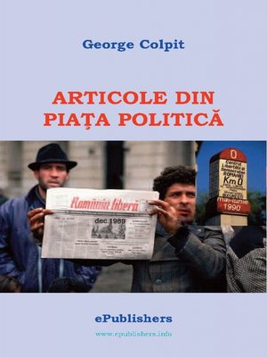 cover image of Articole de pe piata politica