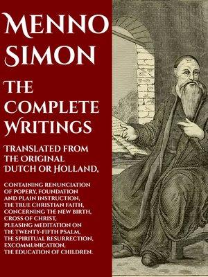 cover image of Menno Simon