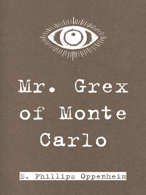 cover image of Mr. Grex of Monte Carlo