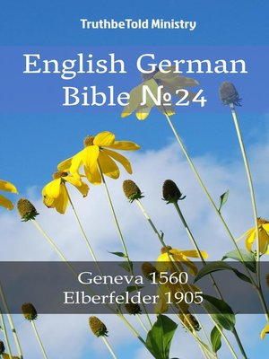 cover image of English German Bible №24