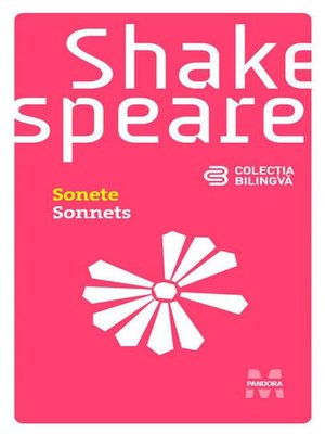 cover image of Sonete (Ediție bilingvă)