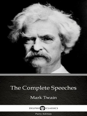 cover image of The Complete Speeches by Mark Twain