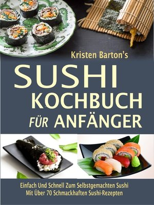 cover image of Sushi-Kochbuch für Anfänger