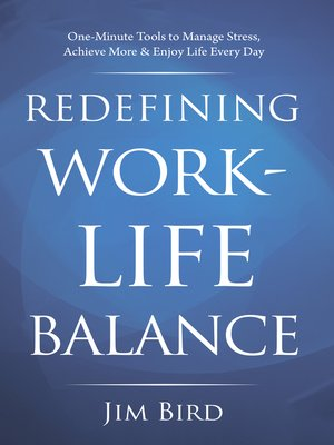 cover image of Redefining Work-Life Balance