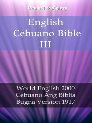 cover image of English Cebuano Bible III