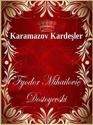 cover image of Karamazov Kardeşler