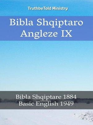 cover image of Bibla Shqiptaro Angleze IX