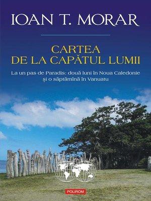 cover image of Cartea de la capătul lumii