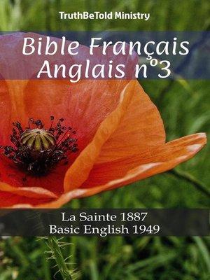 cover image of Bible Français Anglais n°3