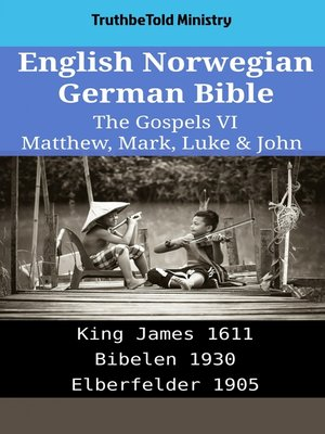 cover image of English Norwegian German Bible--The Gospels VI--Matthew, Mark, Luke & John