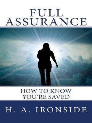 cover image of Full Assurance