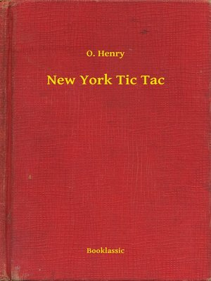 cover image of New York Tic Tac