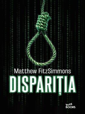 cover image of Dispariția