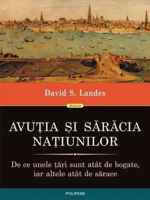 cover image of Avuția și sărăcia națiunilor