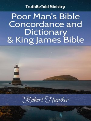 cover image of Poor Man's Bible Concordance and Dictionary & King James Bible