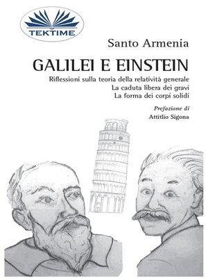 cover image of Galilei E Einstein