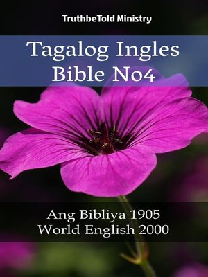 cover image of Tagalog Ingles Bible No4