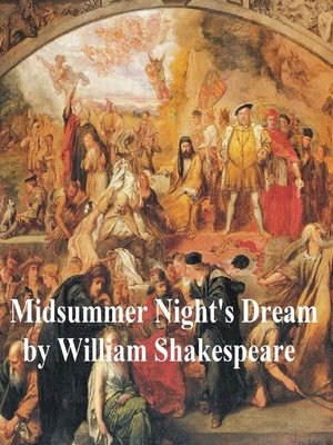 cover image of A Midsummer Night's Dream, with line numbers
