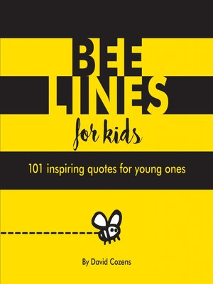 cover image of Bee Lines for Kids