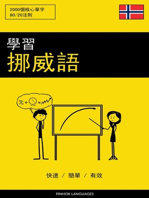 cover image of 學習挪威語--快速 / 簡單 / 有效