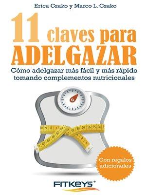 cover image of 11 Claves para adelgazar