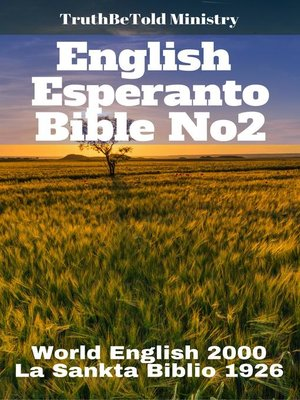 cover image of English Esperanto Bible No2