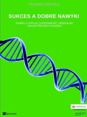 cover image of Sukces a dobre nawyki